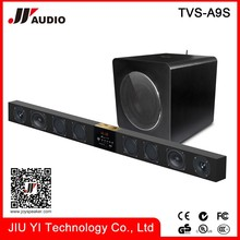 "18"" wireless subwoofer speaker box 3d movies 24 inch subwoofer and sound bar with 8 pcs Speaker"