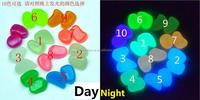 Garden Luminous Pebble Stones Garden Lighting Pebble Stones Mix Light Fluorescent Pebble Stone