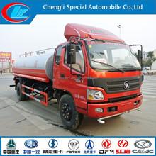 Foton truck 6 wheeler Water Sprinkler Tank Truck 4*2 water carrier truck
