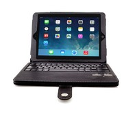 """New Wireless Removable Bluetooth Keyboard PU Leather Cover Case For Apple iPad 5 5th iPad Air 9.7"""" Tablet PC"""