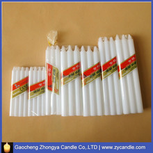 10G-95G candle /bougie/vela white candle wax manufacuturer in china