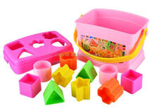 Baby shape matching toy, baby buidling block, bricks toys for kids