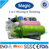 Creative 2 in 1 Misting&Drinking 750 ml Joyshaker Plastic Sports Bottle&Plastic Sport Water Bottle&Sports Drink Bottle
