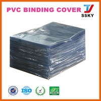 A4 clear plastic pvc material vinyl book cover for stationery packing