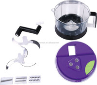 Multi-function manual food processor swift food chopper
