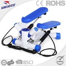 SUNCAO Home Use Cardio Equipment Mini Hydraulic Stepper With Resistance Bands