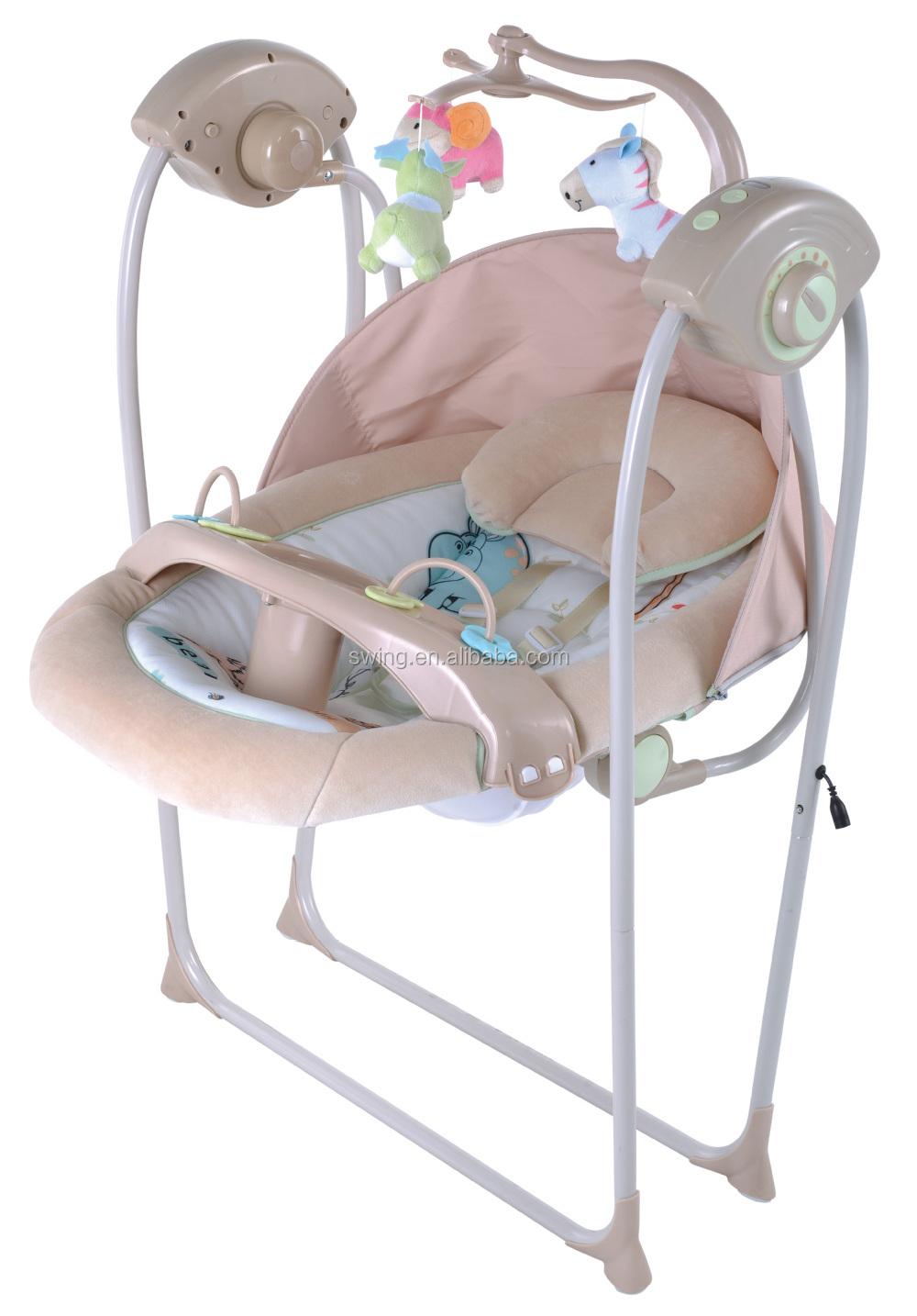 Babybed swing/elektrische babybett/columpios pará bebes, plastic ...