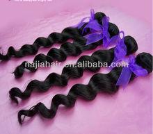 cheap virgin sew in human hair extension