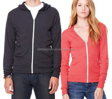 Cheap new coming girls slim fit hoodies with zipper