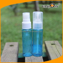 Colorful 15ml 25ml 30ml Clear Plastic PET Bottle for Cosmetic