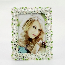 Flower Fashion Picture Frame Metal Picture Frame Cheap 3.5*5 Picture Frame HQ080979-35