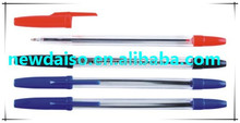 Customized Printed Promotional bic ball pen plastic ball pen/roller tip pen