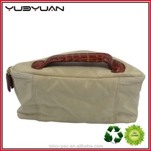 2015 Wholesale China Alibaba Seller Canvas Jewely Pouch Zipper Cosmetic Bag Nylon