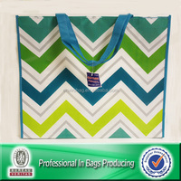 100% eco-friendly custom made pp non woven shopping bags with logo