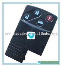 car remote key for Mazda 3+1 buttons remote cover