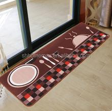 Wholesale Printing Bibulous Non-slip Mat / The Kitchen Hallway Foot Pad / Household Galley Kitchen Mat