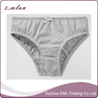 Young girls cotton wearing panties