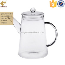 Promotional glass water pitcher with lid buy glass water pitcher with lid promotion products at - Heat proof pitcher ...
