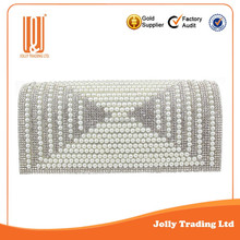 New arrival factory evening bag crystal shoes and bags to match