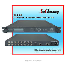 satellite receiver with ip out /dvb-s to ip gateway /dvb-s iptv
