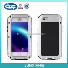 High quality cell phone case aluminium dustproof and shockproof case for iphone 6 4.7inch