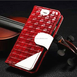 Protective Knitting pattern leather cover case for iphone 5/5s