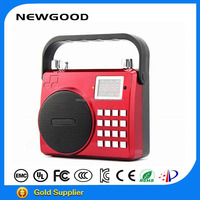 Portable megaphone with USB and SD card function for wholesale