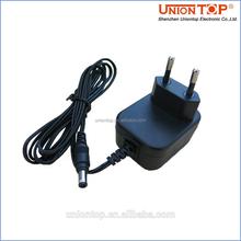 UK US plug 9v 0.5a power adapter 9v 500ma with CE FCC