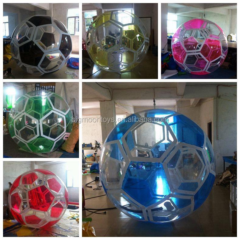 2017 hot paintball bola inflável da água, esfera de passeio da água, esfera de passeio da água esfera da água bola inflável
