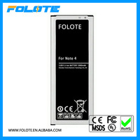 Rechargeable EB-BN910 mobile phone battery for Galaxy for Samsung note 4 battery