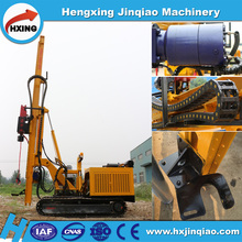 Crawler or Truck Mounted Screw Rotary Machine Solar Pile Driver