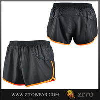 100% polyester breathable hot full Sublimation wholesale mens running shorts