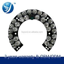 Shenzhen top manufacturer of cctv camera accessories ir illuminator 850nm led panel light