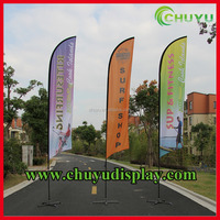 Blade Wind Flag banner wholesale feather flags advertised bowed banners
