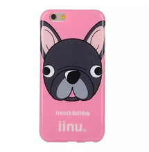 Lovely Dog soft tpu cover cute animal shaped phone case for iphone 6 6 plus