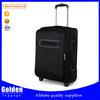 Classical black 20 inch 24 inch 28 inch Travel Luggage good handle 1680D luggage trolley bag