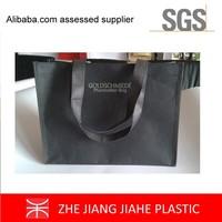 high quality black kraft paper bag eco promotional bag hot stamping sliver logo printing custom shopping bags