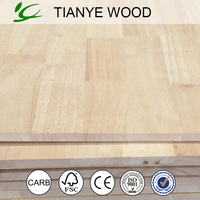 Rubber wood finger joint laminated board/finger joint board