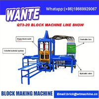 CHINA WANTE MACHINERY High production automatic brick manufacturing plant from china supplier