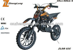The CE certification 49cc enduro dirt bike