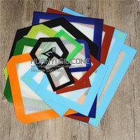 Custom non stick clear silicone mat slick pad bho oil dab mats silicone anti slip mat silicon bho wax pad