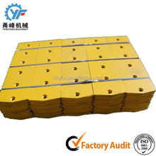 5D9554 5D9558 heat treated manganese steel Bulldozer blades cutting edges, spare part