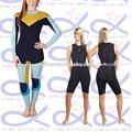 La piel lisa traje de neopreno, neopreno traje de buceo, a prueba de agua buceocontraje trajedebaño&ropadeplaya