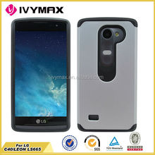 So hot! Rugged case for LS665 hybrid hard case cover for LG C40