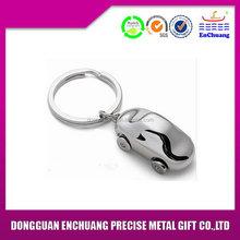High quality useful custom anchor nickel metal keychain