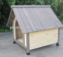 Simple Outdoor Dog Kennel / Wooden Cat House for Indoor and Outdoor