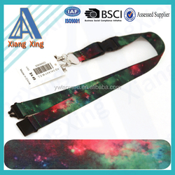 Promotional custom neck id card holder lanyard leather wholesale