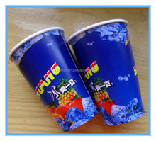 High Quality Disposable Paper Cups and Plastic Lids