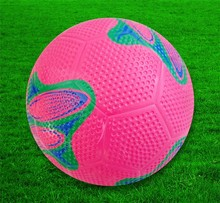 Official size 5 4 3 2 1 and weight new arrival rubber soccer balls/rubber footballs