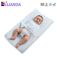 Cheap color waterproof washable baby diaper changing table pad